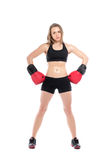 Young sporty woman Stock Photography