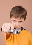 Young spy Royalty Free Stock Photo