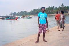 Young Sri Lanka man, portrait Royalty Free Stock Photo