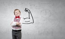 Young but strong enough Royalty Free Stock Images