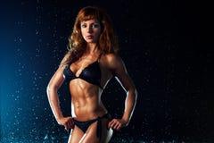 Young strong woman Stock Photos