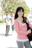Young student. At a university Royalty Free Stock Photo