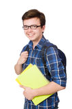 Young student with book Royalty Free Stock Photo