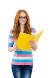 Young student with books Stock Images