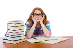 Young student with books Stock Photo