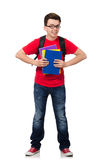 Young student with books Stock Image