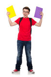 Young student with books Stock Photos