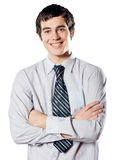 Young student or business man Royalty Free Stock Photo