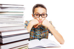 Young student daydreaming Royalty Free Stock Photos