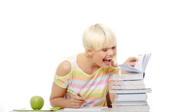 Young student girl Royalty Free Stock Photo