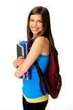 Young student girl Royalty Free Stock Photography