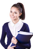 Young student girl Stock Photos