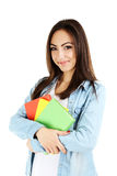 Young student girl Stock Photography