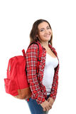Young student girl Royalty Free Stock Images