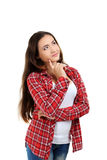 Young student girl Stock Images