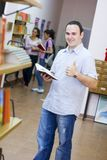 Young student holding book Royalty Free Stock Photo