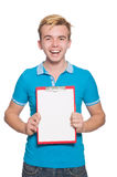 Young student isolated Stock Photos