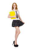 Young student isolated Stock Image