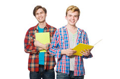 Young student isolated Stock Photo