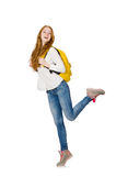 Young student isolated Royalty Free Stock Photo