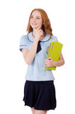 Young student Royalty Free Stock Photo