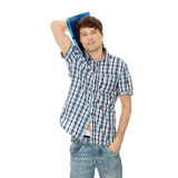 Young student man Stock Photography