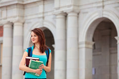 Young Student On Campus Stock Photos