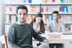 Young student portrait Stock Image