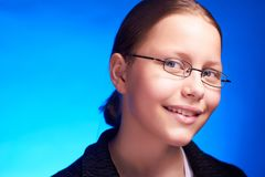 Young student smiling Royalty Free Stock Image