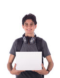 Young student smiling Royalty Free Stock Photo