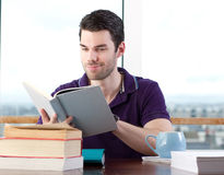 Young student studying Stock Photos