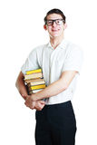 Young student or teacher Royalty Free Stock Image