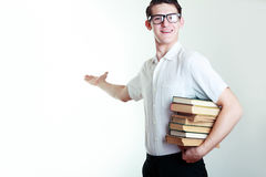 Young student or teacher Stock Photography