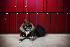 Young student torturing of school bullying stock photos