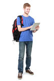 Young student using tablet pc Stock Photos