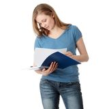Young student woman Stock Photos