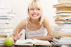 Young student woman Stock Image