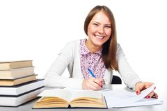 Young student woman Royalty Free Stock Photo