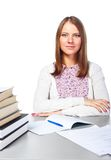 Young student woman Royalty Free Stock Image