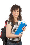 Young student woman Stock Photos
