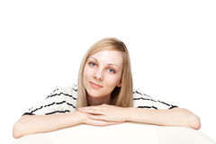 Young student woman Royalty Free Stock Photos