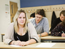 Young student woman Royalty Free Stock Photography