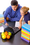 Young students Royalty Free Stock Images