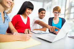 Young students Stock Images