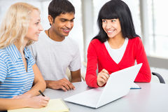 Young students Royalty Free Stock Photos