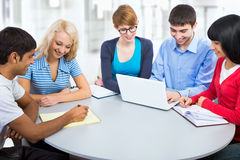 Young students Stock Image