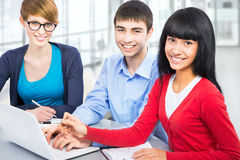Young students Stock Photos