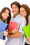 Young students isolated Stock Photography
