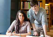 Young students posing Royalty Free Stock Images