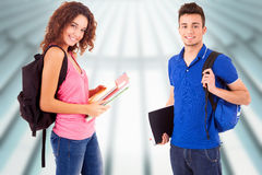 Young Students Royalty Free Stock Image